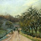 Lane of Apple Trees near Osny, Pontoise, 1874 - A3 Poster