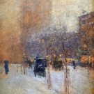 New York, Late Afternoon, 1900 - 24x18 IN Poster