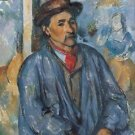 Man in a Blue Smock, 1873 - 24x18 IN Poster