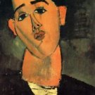 Modigliani - Portrait of Juan Gris - 24x32 IN Canvas