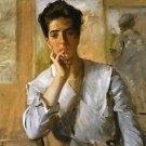 Portrait of Kate Freeman Clark, 1902 - 24x32 IN Canvas