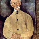 Modigliani - Portrait of Mr. Lepoutre - 24x32 IN Canvas