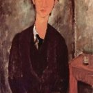 Modigliani - Portrait of Chaiim Soutine - 24x32 IN Canvas
