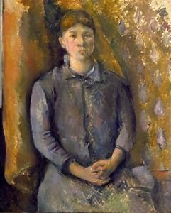 Portrait of Madame Cezanne, 1886 - 24x32 IN Canvas