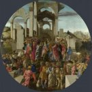 Sandro Botticelli - The Adoration of the Kings - 24x18IN Canvas Painting