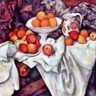 Still Life with Apples and Oranges by Cezanne - 24x18 IN Canvas