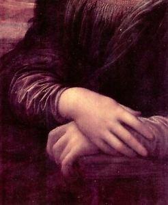 Mona Lisa Detail [2] by Da Vinci - 24x18 IN Canvas