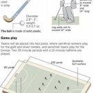 Vinteja charts of - Field Hockey - A3 Paper Print
