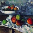 Still Life with Fruit Bowl by Cezanne - A3 Poster