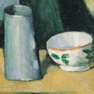 Still Life with Bowl and Milk-Jug, 1873-77 - 24x32 IN Canvas