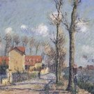 The Quay of Pothius in Pontoise, 1906 - A3 Poster