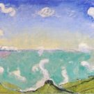 Caux Landscape with Rising Clouds, 1917 - 24x18 IN Poster