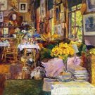 The Room of Flowers, 1894 - 24x18 IN Poster