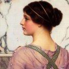 Godward - A grecian lovely - 24x18 IN Canvas