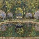 Basin of Trianon, 1916 - 24x18 IN Canvas