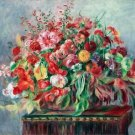 Basket of Flowers, 1890 - 24x18 IN Canvas