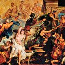 Medici's and the Apotheosis of Henry IV by Rubens - 24x18 IN Canvas