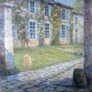 The Pink House at Versailles, 1918 - 30x40 IN Canvas