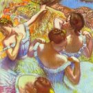 Dancers in blue by Degas - A3 Paper Print