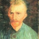 Self-portrait in green by Van Gogh - Poster (24x32IN)