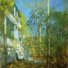 Summer at Cos Cob, 1902 - 24x32 IN Canvas
