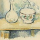 Still Life with Carafe and Bowl, 1878-80 - 24x32 IN Canvas