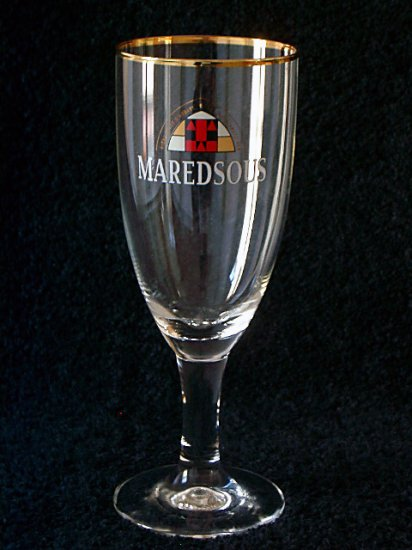 Maredsous Belgian Beer Glasses, Set of 2