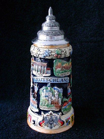 King Werk Limited Edition Beer Stein, Deutschland Panorama