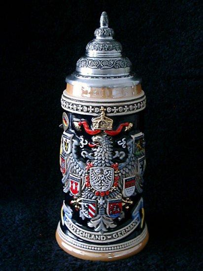 King Werk Limited Edition Beer Stein, Deutschland Coat of Arms