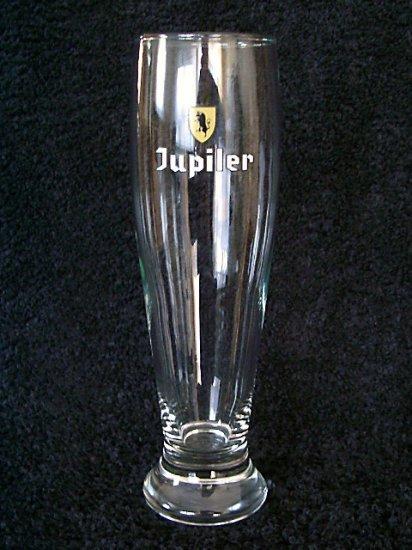 Jupiler Belgian Beer Glasses, Set of 2, 0.25L