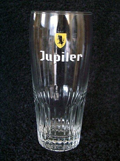 Jupiler Belgian Beer Glasses, Set of 2, 0.33L