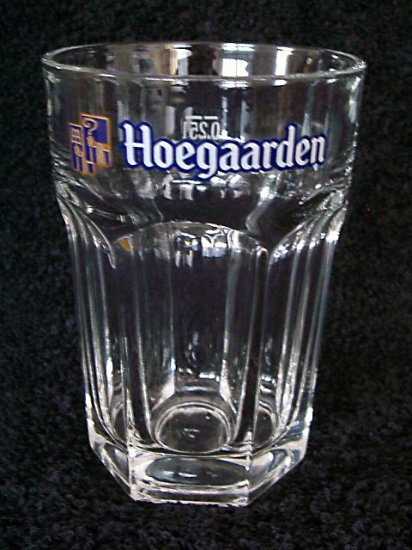 Hoegaarden Belgian Beer Glasses, Set of 2