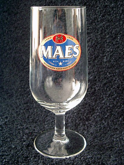 Maes Belgian Beer Glasses, Set of 2
