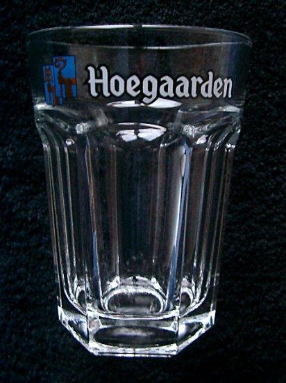 Half Liter Hoegaarden Belgian Beer Glass