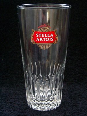 Branded glass promotion on Stella Artois beers