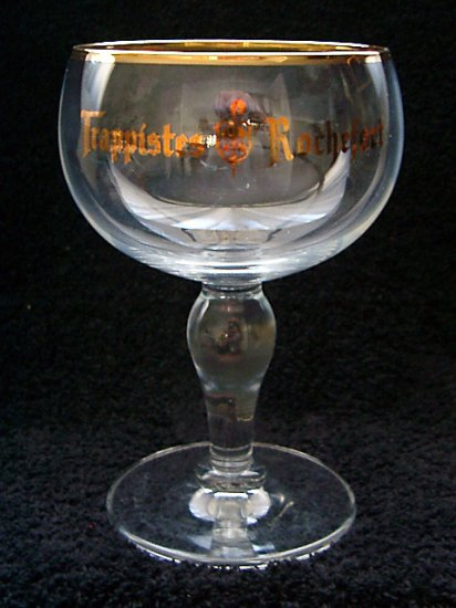 Rochefort Trappist Belgian Beer Glasses, Set of 2