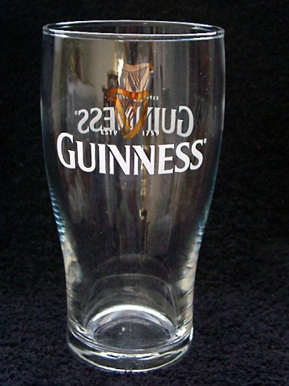 Guinness Pub Pint Glasses, Set of 2
