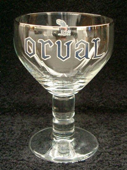 Orval Belgian Beer Glasses, Set of 2