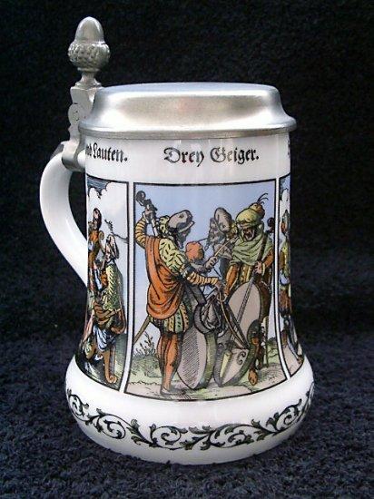 Kaiser Porcelain Musician Beer Stein