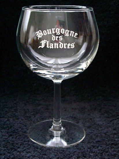 Bourgogne des Flandres Belgian Beer Glass