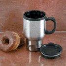 Maxam® 14oz Stainless Steel Travel Mug (KTMUGPL)