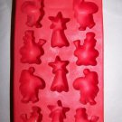 Silicone Ice Tray Mold Christmas Shaped  (39009)