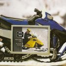 Snow Runners Picture Frame 3.5 x 2.5  BLUE