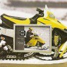Snow Runners Picture Frame 3.5 x 2.5 YELLOW