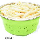 Collapsible Colander with Metal Handles 3 QT  (30034)