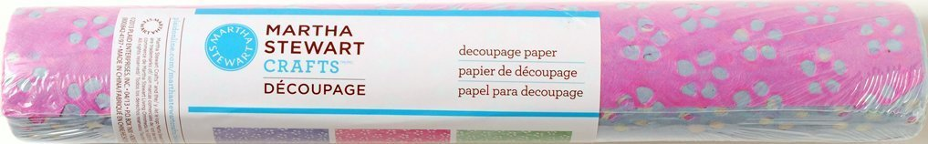 Martha Stewart Crafts Decoupage Rolled Papers, Eyelet Pattern