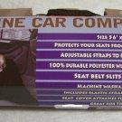 """Canine Car Companion  56"""" x 46""""  Black"""