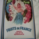 Garde Manger Fruits de France Rectangular Tray