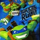 Teenage Mutant Ninja Turtles, Turtles Rule Beach towel   28 x 58 inches