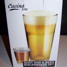 Cucina Vita Shot and a Beer Boilermaker Set